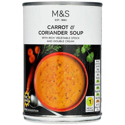 M&S Carrot & Coriander Soup
