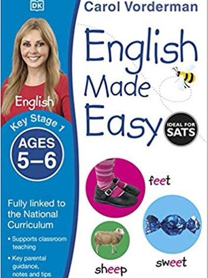 Carol Vorderman English Made Easy Ages 5-6