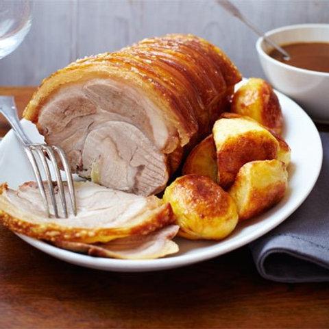 Pork Shoulder Roast with Crackling