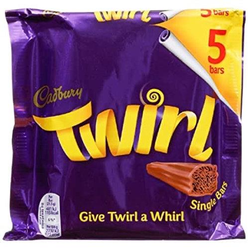 Cadbury's Twirl 5 bars