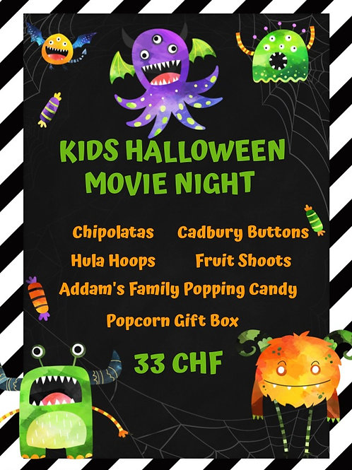 Kids Halloween Movie Night Packs (Pick Up 28-30th Oct)