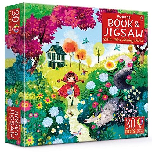 Usborne Book & Jigsaw - Little Red Riding Hood