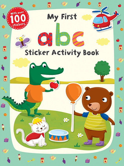 My First ABC - Sticker Activity Book