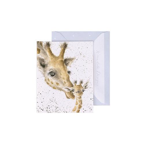 First Kiss - Wrendale Mini Card