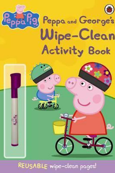 Peppa and George's Wipe-Clean Activity Book
