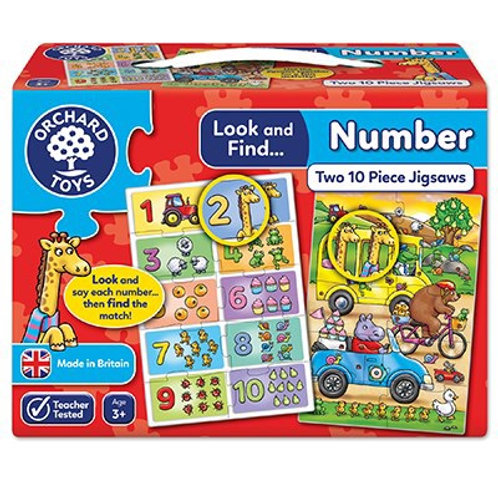 Look & Find... Number - Orchard Toys