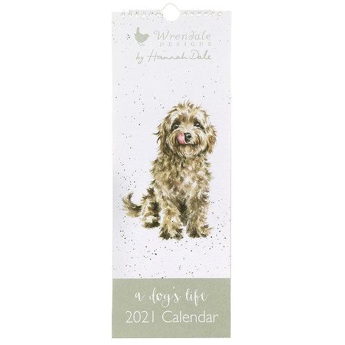 Wrendale Slim Calendar 2021