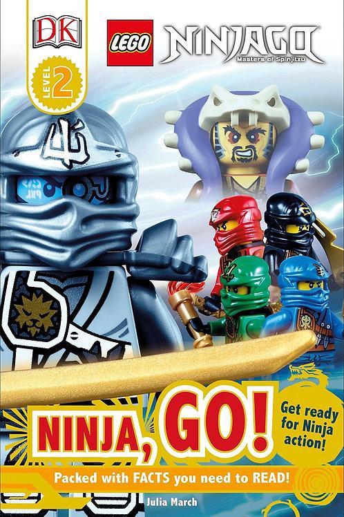DK Level 2 - Lego Ninjago - Ninja, Go!