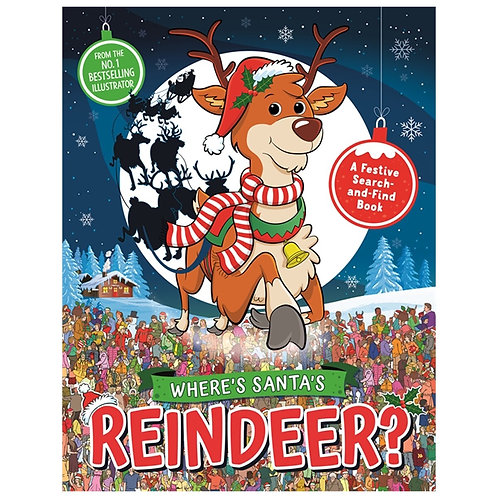 Where's Santa's Reindeer?: A Festive Search Book