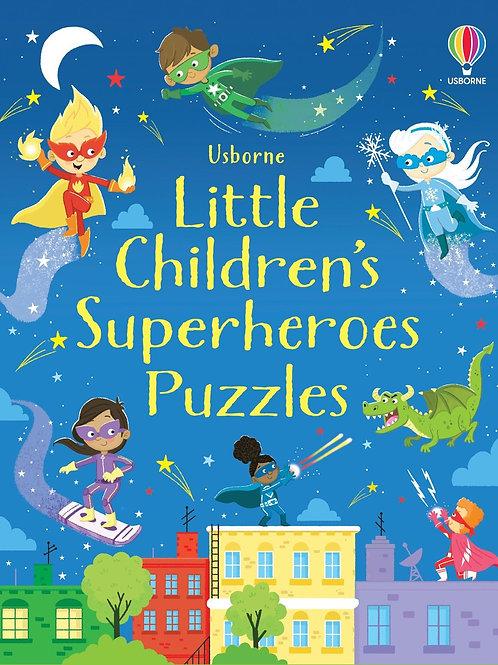 Usborne Little Children's Superheroes Puzzles