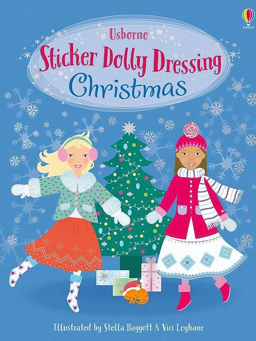 Sticker Book - Dolly Christmas