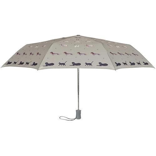 Raining Cats & Dogs Umbrella (Sophie Allport)