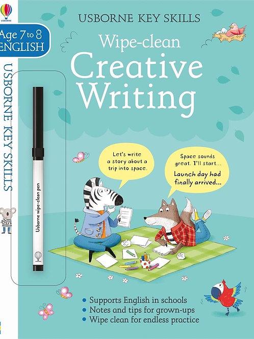 Wipe-Clean Creative Writing (Age 7-8)