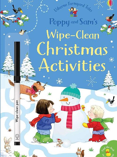 Poppy & Sam's Wipe-Clean Christmas Activities