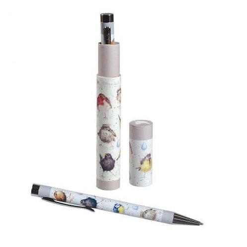 Pen in Gift Box - Birds
