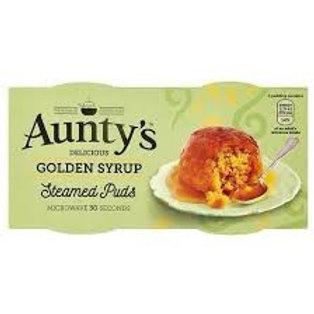 Golden Syrup Steamed Puds
