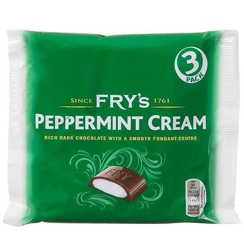 Fry's Peppermint Cream - 3 bars per pack