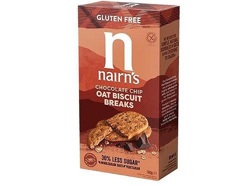 Nairn's Chocolate Chip Oat Biscuit Breaks