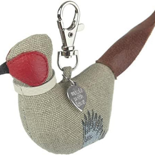 Pheasant Key Ring