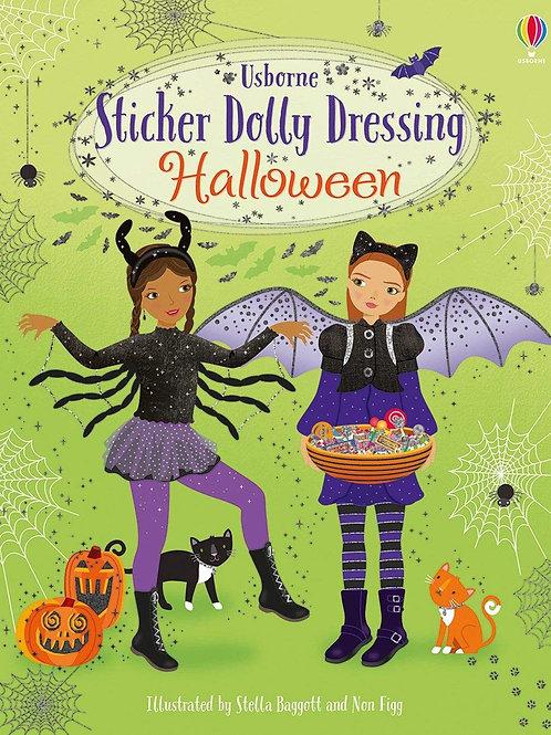 Usborne Sticker Dolly Dressing Halloween