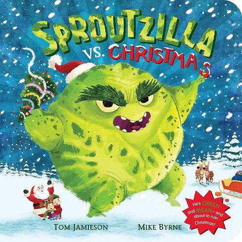 Sproutzilla vs. Christmas (Board Book)