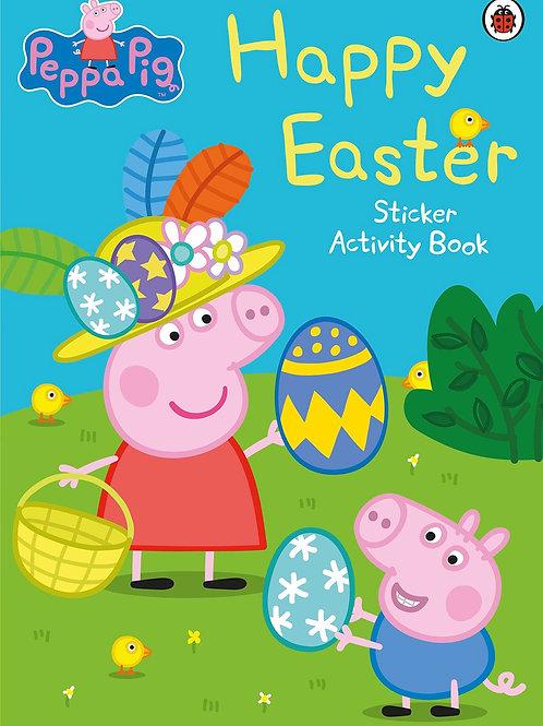 Peppa Pig Happy Easter Sticker