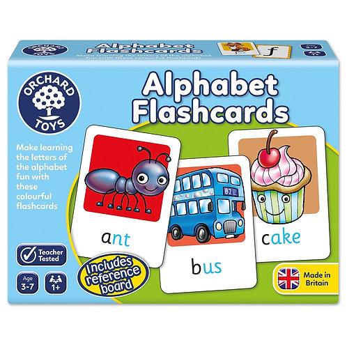 Alphabet Flashcards - Orchard Toys