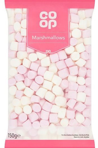COOP Pink and White Mini Marshmallows
