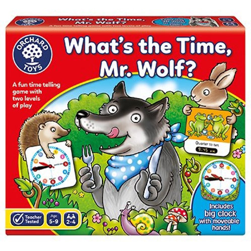 What's the Time, Mr Wolf Game (Orchard Toys)