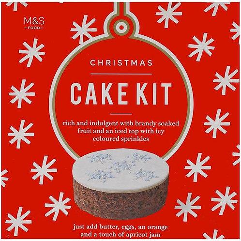 M&S Christmas Cake Kit