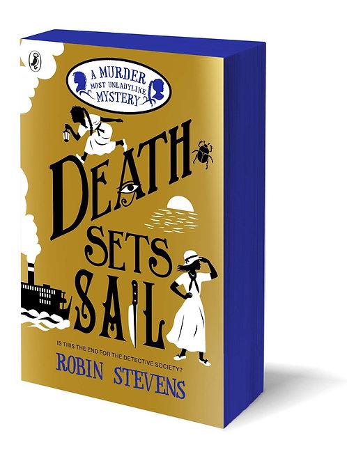 Death Sets Sail - A Murder Most Unladylike Mystery