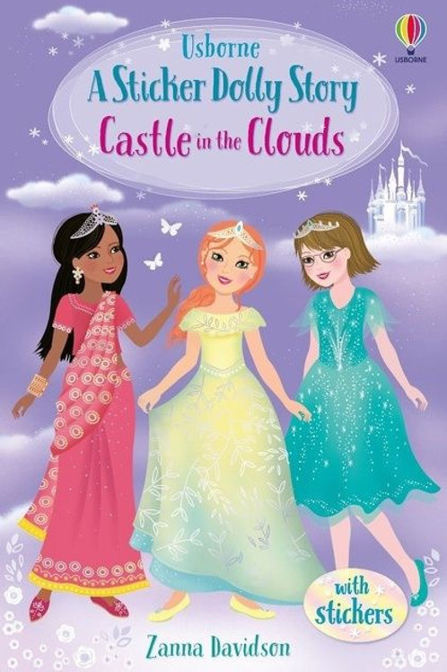 Castle in the Clouds (Usborne Sticker Dolly Story) by Zambia Davidson