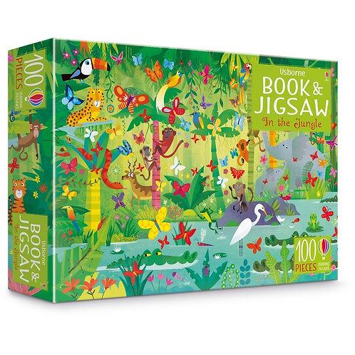 Usborne Book & Jigsaw - In the Jungle
