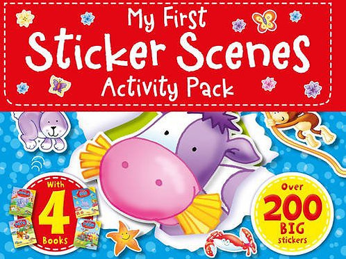 My First Sticker Acenes Activity Pack
