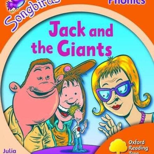 Songbirds Phonics Stage 6 - Jack and the Giants