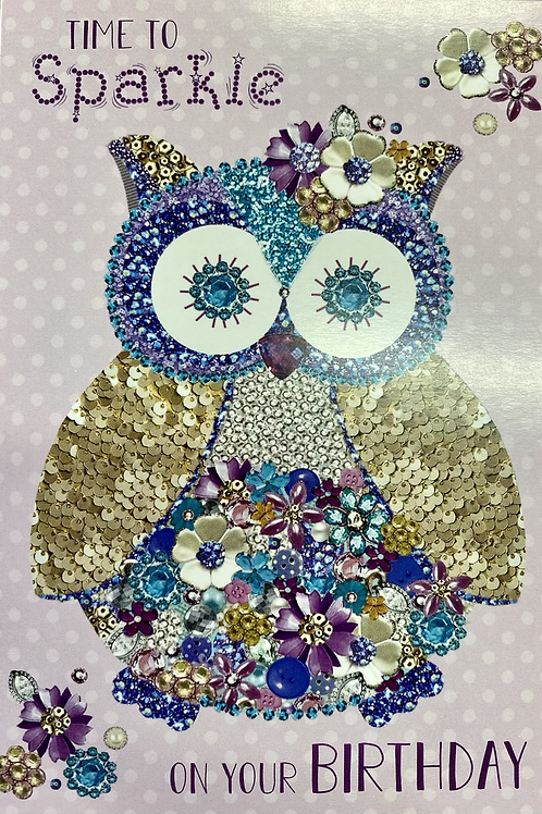 Time to Sparkle Card