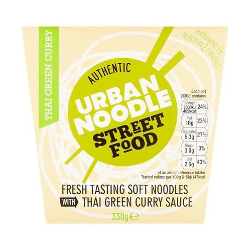 Urban Noodle - Noodles in Thai Green Curry Sauce