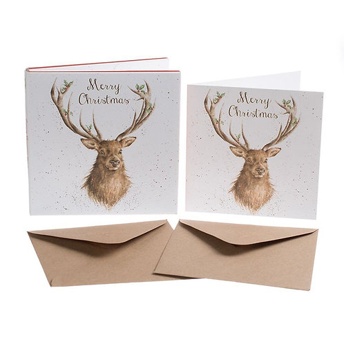 Wrendale Christmas Card Pack - Merry Christmas
