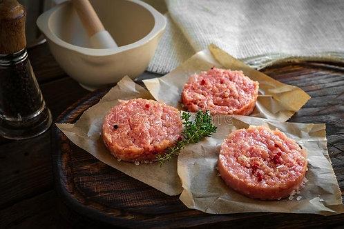 Chicken Hamburger Patties (BBQ Pre-Order)