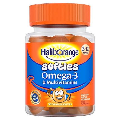 Haliborange Omega-3 & Multivitamin Softies
