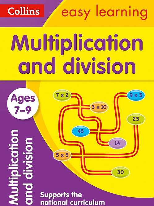 Collins Easy Learning - Multiplication and Division (Ages 7-9)