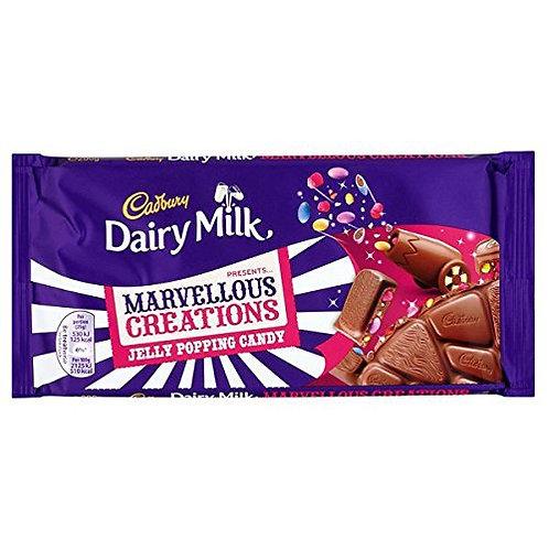 Cadbury Marvellous Smashables Jelly Popping Candy