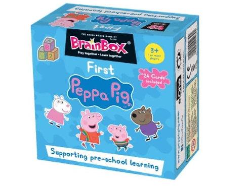 Brainbox - First Peppa Pig