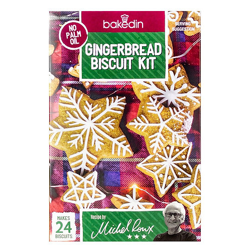 Gingerbread Biscuit Kit