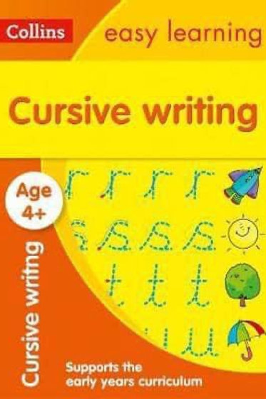 Collins Easy Learning - Cursive Writing