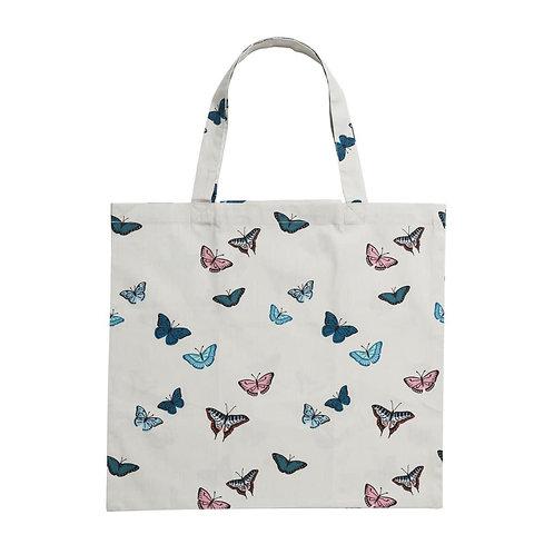 Folding Shopping Bag - Butterflies