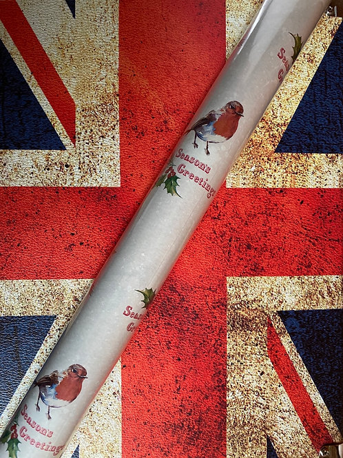 Wrapping Paper - Robin