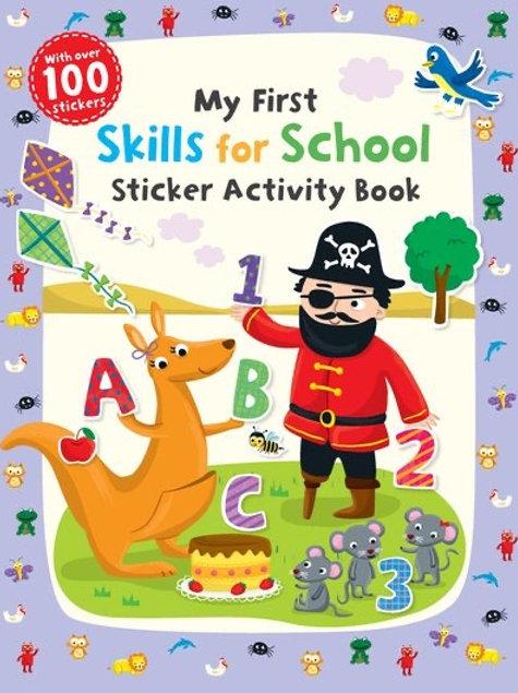 My First Skills for School - Sticker Activity Book