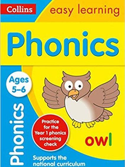 Collins Easy Learning - Phonics (Ages 5-6)