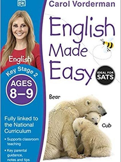 Carol Vorderman English Made Easy Ages 8-9
